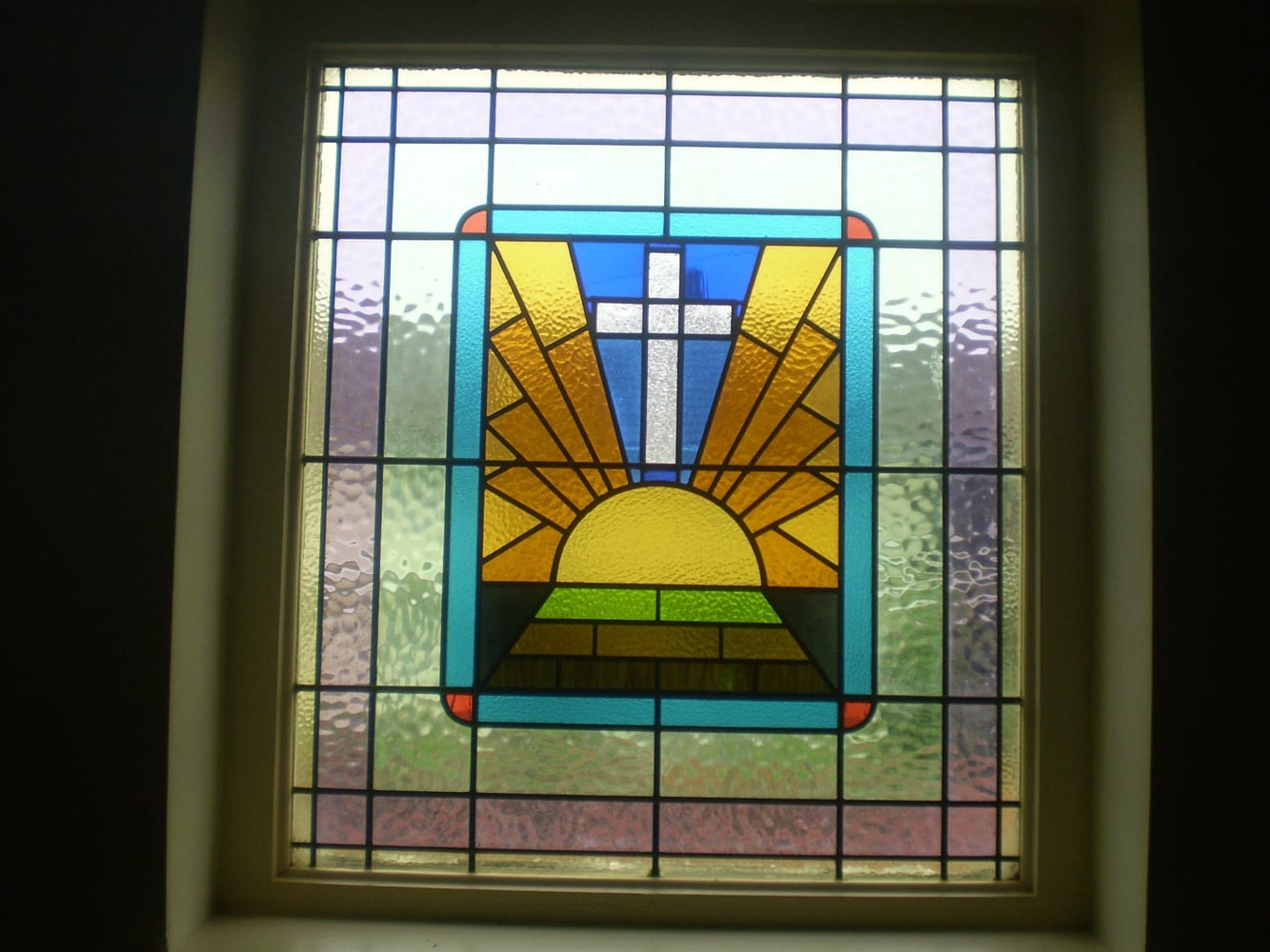 Encapsulated Stained Glass Windows Artistic Leaded Glass Co